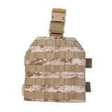 PANTAC PH-S226-DD-A Molle Leg Panel, Digital Desert