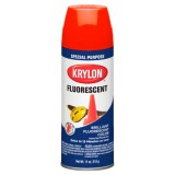 KRYLON Fluorescent Paint (Red-Orange)