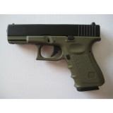 KJ WORKS G32C Gas BlowBack (ABS Slide) OD GREEN