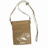 CONDOR 208-003 Passport/ID Holder Coyote Tan