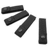CONDOR 223-002 4'' MOD Strap Black (4 Pcs)