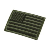 CONDOR 230-001 USA Flag Velcro Patch OD (6 Pcs)