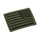 CONDOR 230-001R REVERSED USA Flag Velcro Patch OD (6 Pcs)