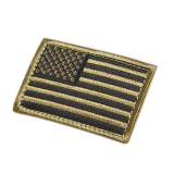 CONDOR 230-003 USA Flag Velcro Patch Coyote Tan (6 Pcs)