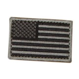 CONDOR 230-007 USA Flag Velcro Patch BK/Foliage (6 Pcs)