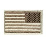 CONDOR 230-009R REVERSED USA Flag Velcro Patch Desert (6 Pcs)