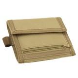 CONDOR 235-003 VAULT Tri-Fold Wallet Coyote Tan
