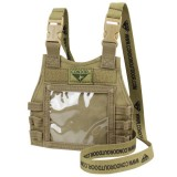 CONDOR 244-003 Mini Plate Carrier ID Panel Coyote Tan