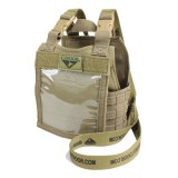 CONDOR 245-003 Mini Exo Plate Carrier ID Panel Coyote Tan