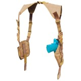 CONDOR ASH-003 Vertical Shoulder Holster Coyote Tan