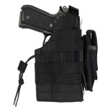 CONDOR H-GLOCK-002 Glock Ambidextrous Holster Black