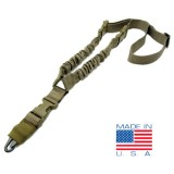 CONDOR US1001-003 COBRA One Point Bungee Sling Coyote Tan