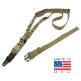CONDOR US1022-003 ADDER Double Bungee One Point Sling Coyote Tan