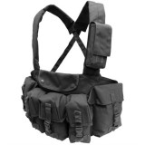 CONDOR CR-002 7 Pocket Chest Rig Black