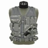 CONDOR CV-007 Cross Draw Vest Coyote ACU M/L