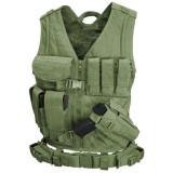 CONDOR CV-XL-001 Cross Draw Vest OD XL/XXL