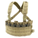 CONDOR MCR6-003 Rapid Assault Chest Rig Coyote Tan