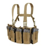 CONDOR US1051-019 Barrage Chest Rig Brown