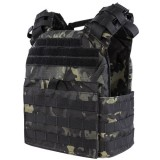 CONDOR US1020-021 Cyclone Lightweight Plate Carrier MultiCam Black