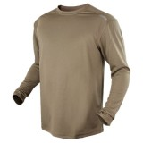 CONDOR 101121-003-M MAXFORT Long Sleeve Training Top M Tan