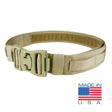 CONDOR US1016-003-L Universal Pistol Belt L/XL 42'' - 46'' Coyote Tan