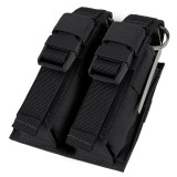 CONDOR 191063-002 Double Flash Bang Pouch Black