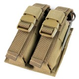 CONDOR 191063-003 Double Flash Bang Pouch Tan