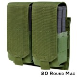 CONDOR 191089-001 Double M14 Mag Pouch - Gen II OD