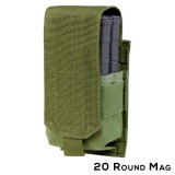 CONDOR 191088-001 Single M14 Mag Pouch - Gen II OD