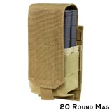 CONDOR 191088-003  Single M14 Mag Pouch - Gen II Tan