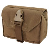 CONDOR 191028-498 First Response Pouch Coyote Brown
