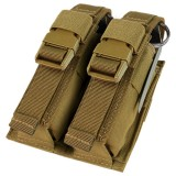 CONDOR 191063-498 Double Flash Bang Pouch Coyote Brown