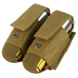 CONDOR MA13-498 Double 40mm Grenade Pouch Coyote Brown