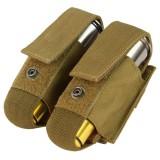 CONDOR MA13-498 Double 40mm Grenade Pouch Coyote Brown