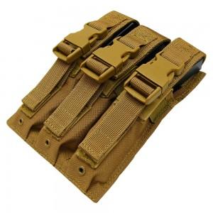 CONDOR MA37-498 Triple MP5 Mag Pouch Coyote Brown