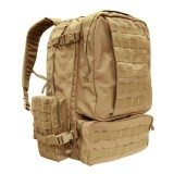CONDOR 125-003 3-Days Assault Pack Coyote Tan