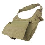 CONDOR 146-003 Messenger Bag Coyote Tan