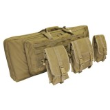 CONDOR 151-003 36'' Double Rifle Case Coyote Tan