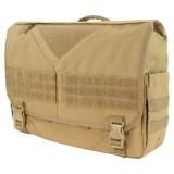 CONDOR 111061-003 Scythe Messenger Bag Tan