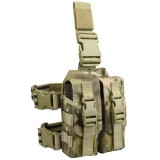 CONDOR MA65-008 Drop Leg M4 Mag Pouch MultiCam