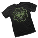 CONDOR 10618-002-XXL Graphic Tee - Gear Black/OD XXL