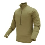 CONDOR 603-003-S BASE II Zip Pullover Coyote Tan S