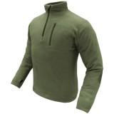 CONDOR 607-001-XXL 1/4 Zip Fleece Pullover OD XXL