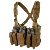 CONDOR MCR5-498  Recon Chest Rig Coyote Brown