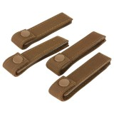 CONDOR 223-498 4'' MOD Strap Coyote Brown (4 Pcs)