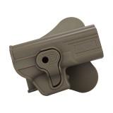 CYTAC CY-G19F Polymer Holster - Glock 19/23/32 (FDE)