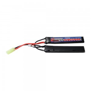 DRAGONPRO DP-L7-005 7.4V 1000mAh 15C LiPO (1+1) 100x20x5.9mm