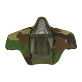 DRAGONPRO DP-FM-003-007 Tactical Foldable Facemask WOODLAND