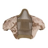 DRAGONPRO DP-FM-003-014 Tactical Foldable Facemask DESERT DIGITAL