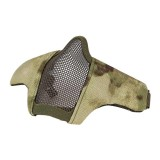 DRAGONPRO DP-FM006-011 FAST Helmet Tactical Foldable Facemask AT FG